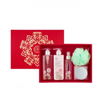 Perfume Seed Rose Body Set