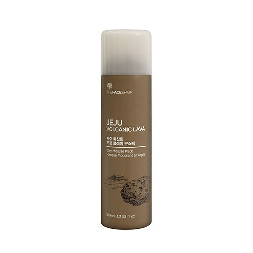 Jeju Volcanic Lava Clay Mousse Pack