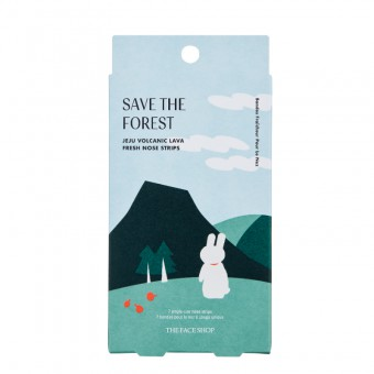 Save The Forest Jeju Volcanic Lava Fresh Nose Strips