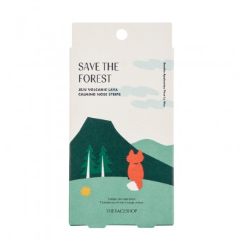 Save The Forest Jeju Volcanic Lava Calming Nose Strips