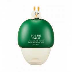 Save The Forest My Woodland Friends Hand Cream 01 Bunny