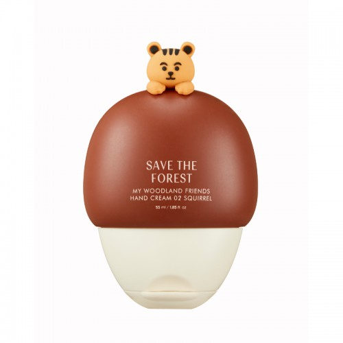 Save The Forest My Woodland Friends Hand Cream 02 Squirrel