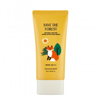 Save The Forest Natural Sun Eco Super Active Sun Cream