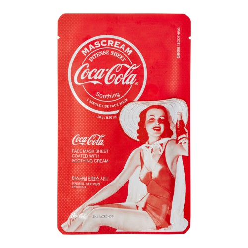 Coca-Cola Mascream Intense Soothing (6ea)