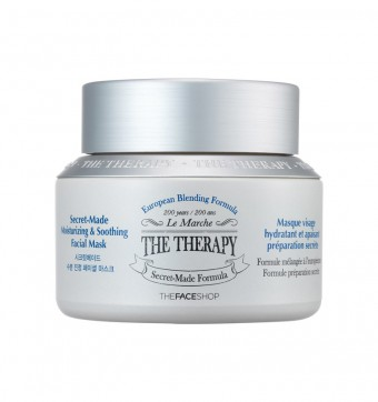 The Therapy Secret Made Moisturizing & Soothing Facial Mask
