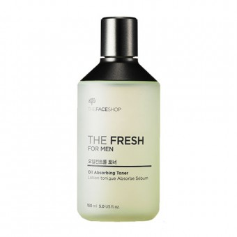 The Fresh for Men Oil Absorbing Toner [exp 291018]
