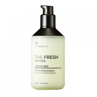The Fresh For Men Oil Absorbing Emulsion