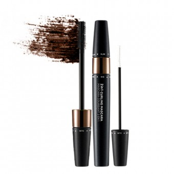 2-In-1 Curling Mascara 02 Brown