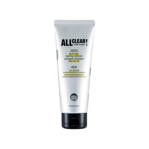 All Clear All In One Foaming Cleanser