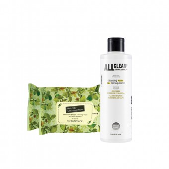 All Clear Cleansing Water 250ml + cleansing tissue