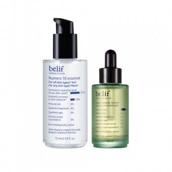 belif Peat Miracle Revital Serum_Numero 10 Set