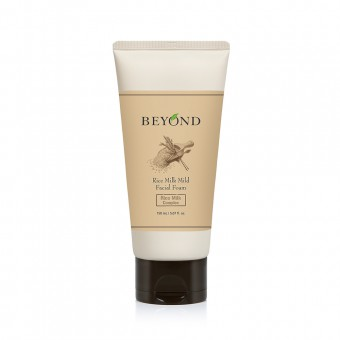 Beyond Rice Milk Mild Facial Foam