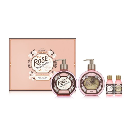 Beyond Rose Silk-Bouquet Body Gift Set