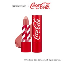 Coca-Cola Lipstick 01 Refreshing Rose