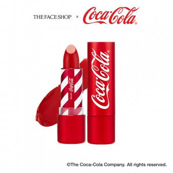 Coca-Cola Lipstick 04 Coke Red