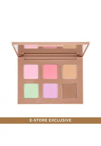 Color Contour Face Palette 01