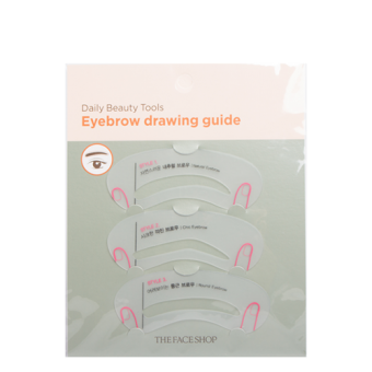 Daily Beauty Tools Eyebrow Drawing Guide