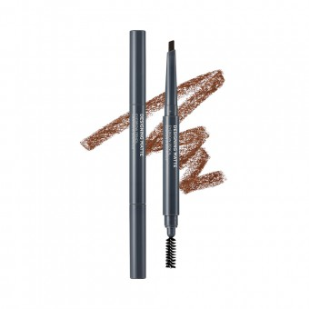 Designing Matte Eyebrow Pencil 01 Light Brown