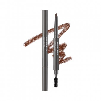 Designing Matte Eyebrow Pencil 02 Brub Rose