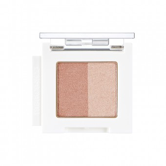 Mono Cube Eyeshadow (Dual)  BE01 Nude Beach
