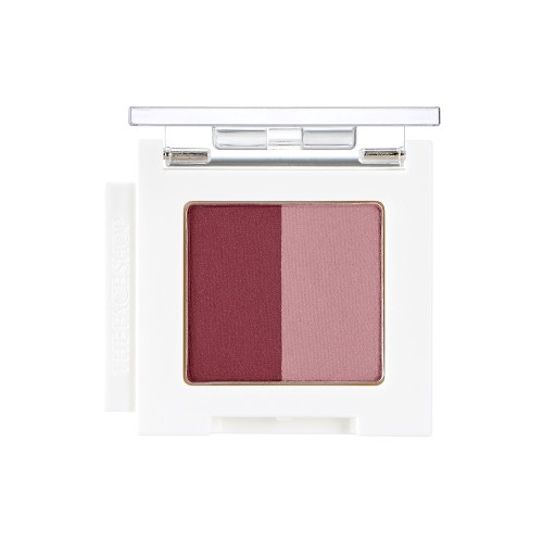 Mono Cube Eyeshadow (Dual)  PK01 Wine House