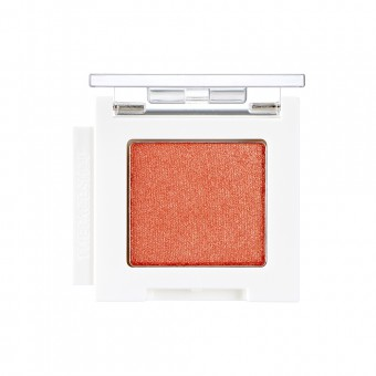 Mono Cube Eyeshadow (Shimmer)  OR01 Frozen Orange
