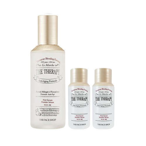 The Therapy First Serum 130ml (Free First Serum 32ml x2)