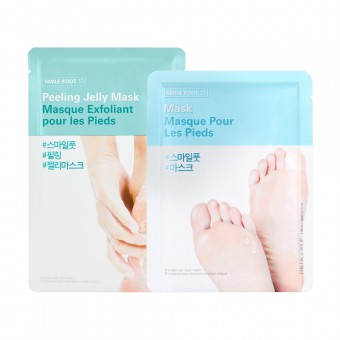 XMAS SET SMILE FOOT MASK