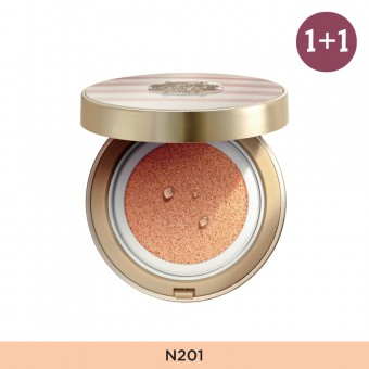 Anti-Darkening Cushion N201 FREE Glow Foundation V201