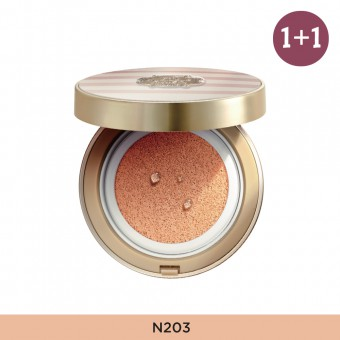 Anti-Darkening Cushion N203 FREE Glow Foundation V201
