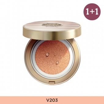 Anti-Darkening Cushion V203  FREE Glow Foundation V201