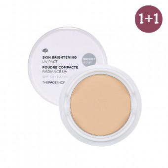 Skin Brightening UV Pact SPF50+ PA+++ N203 1+1