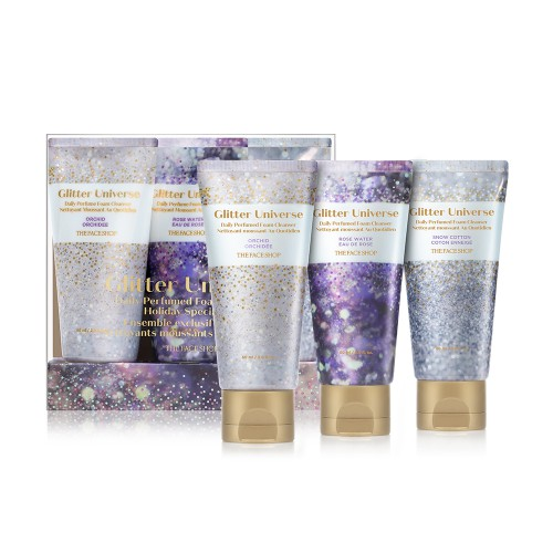 Daily Perfumed Foam Cleanser Holiday Set