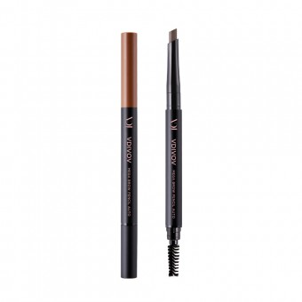 VDIVOV Mega Brow Pencil Auto No.2 Medium Brown