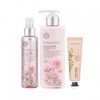 Perfume Seed Body Lotion Set