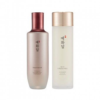 Yehwadam Heaven Grade Ginseng Rejuvenating Toner & First Serum SEt