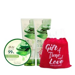 Holiday Bundle_Jeju Aloe Fresh Soothing Gel Set