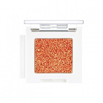 Mono Cube Eyeshadow (Glitter)  OR02 Merry Orange