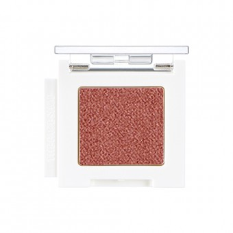 Mono Cube Eyeshadow (Glitter)  RD01 Cognac Brown