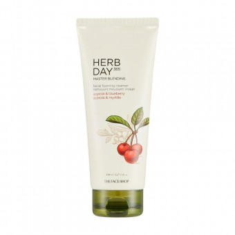 Herb Day 365 Master Blending Foaming Cleanser Acerola & Blueberry