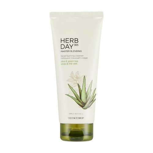 Herb Day 365 Master Blending Foaming Cleanser Aloe & Green tea