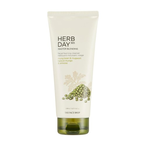 Herb Day 365 Master Blending Foaming Cleanser Mungbean & Mugwort