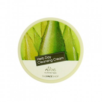 Herb Day Cleansing Cream - Aloe