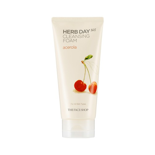Herb Day 365 Cleansing Foam Acerola