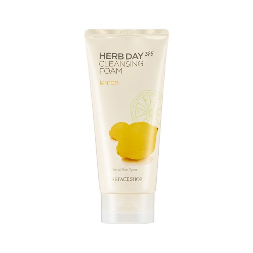 Herb Day 365 Cleansing Foam Lemon
