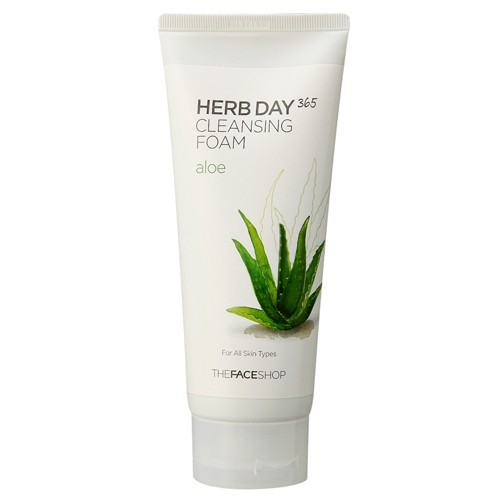 Herb Day 365 Cleansing Foam Aloe