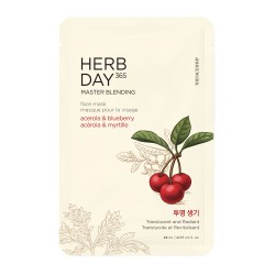 Herb Day Acerola & Blueberry Mask