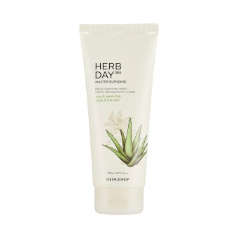 Herb day 365 Master Blending Cleansing Cream Aloe_Greentea