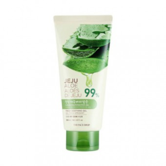 Jeju Aloe Fresh Soothing Foam Cleanser