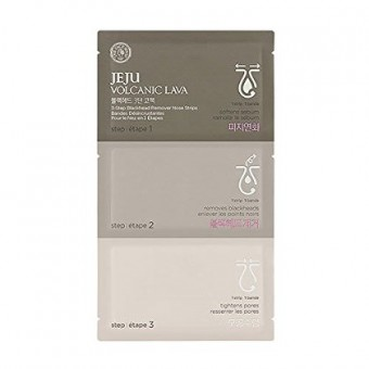 Jeju Volcanic 3 Step Blackhead Remover Nose Strip